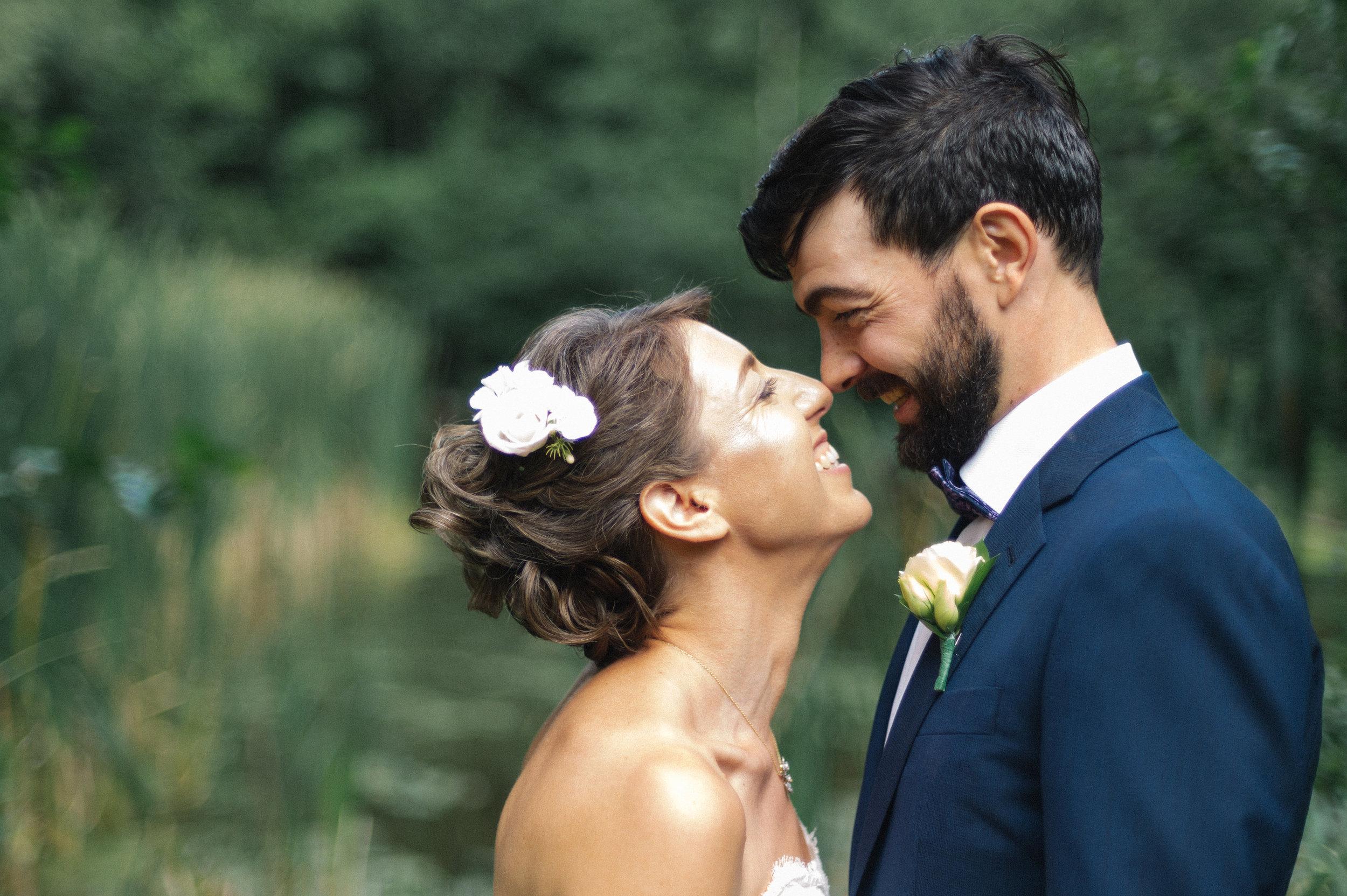 Daniela & Pieter - Private backyard wedding