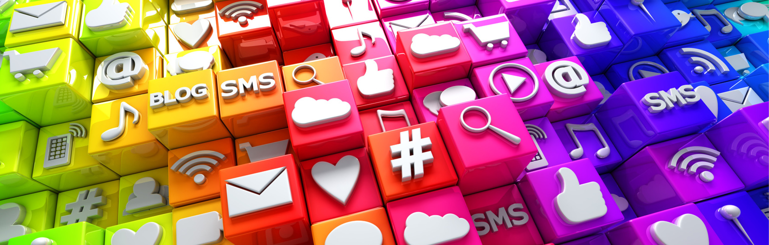 A snap shot of all the online marketing from email to cloud to e-commerce
