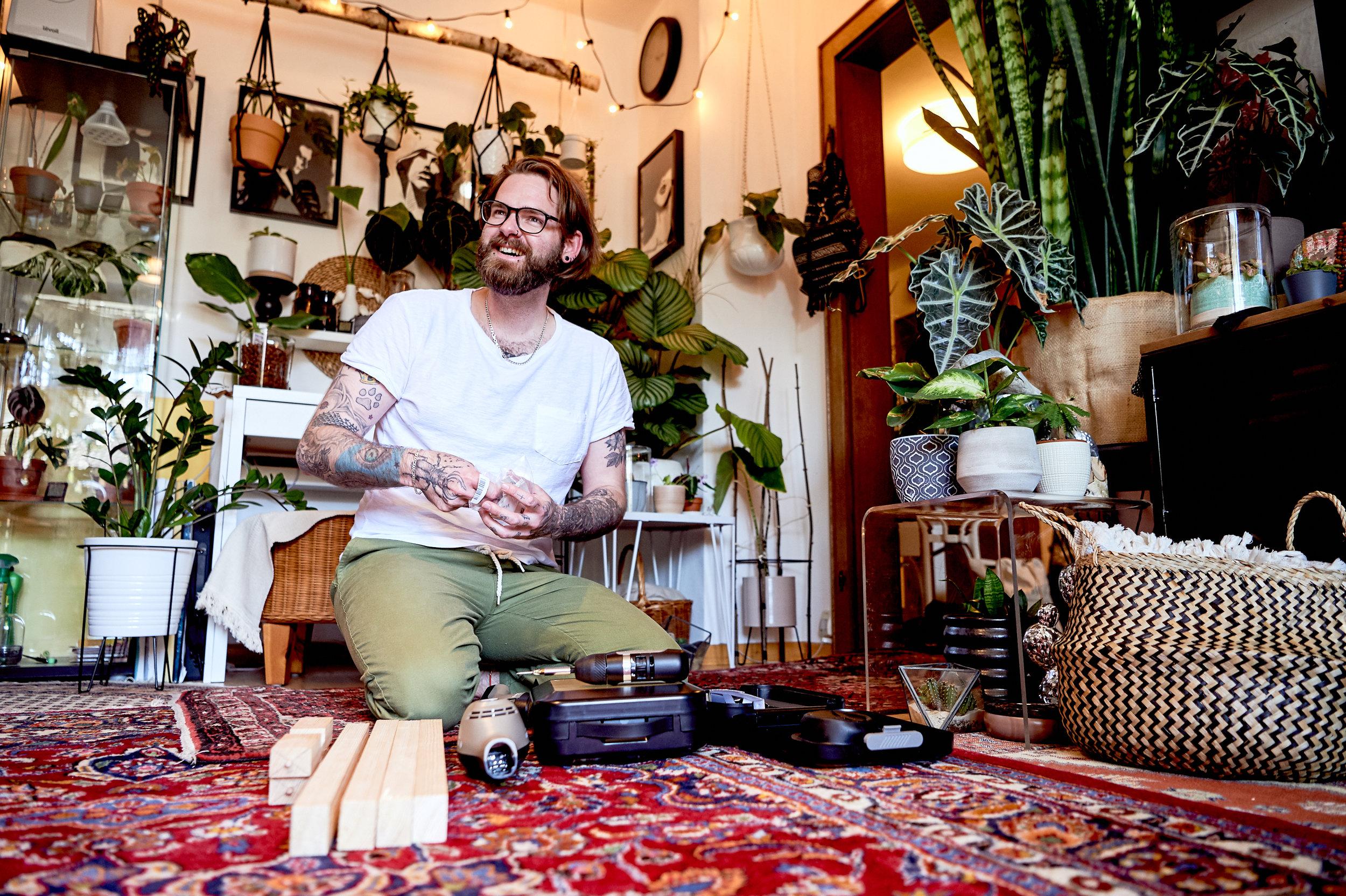 Bosch - Große Pflanzenliebe bei Bernd Reichler von @munichjungle