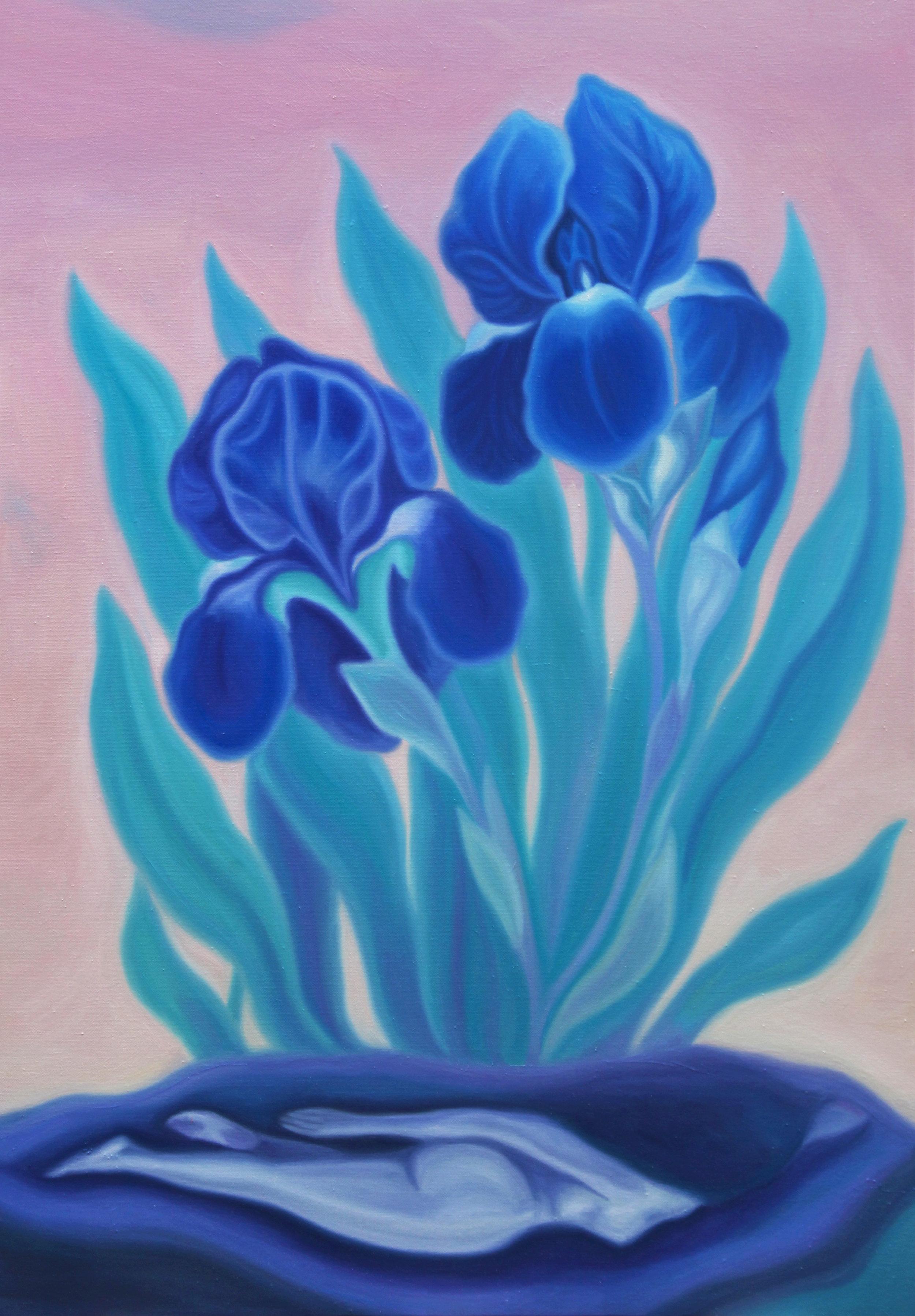 Végétarienne II  , 2018, oil on linen canvas, 116x89cm