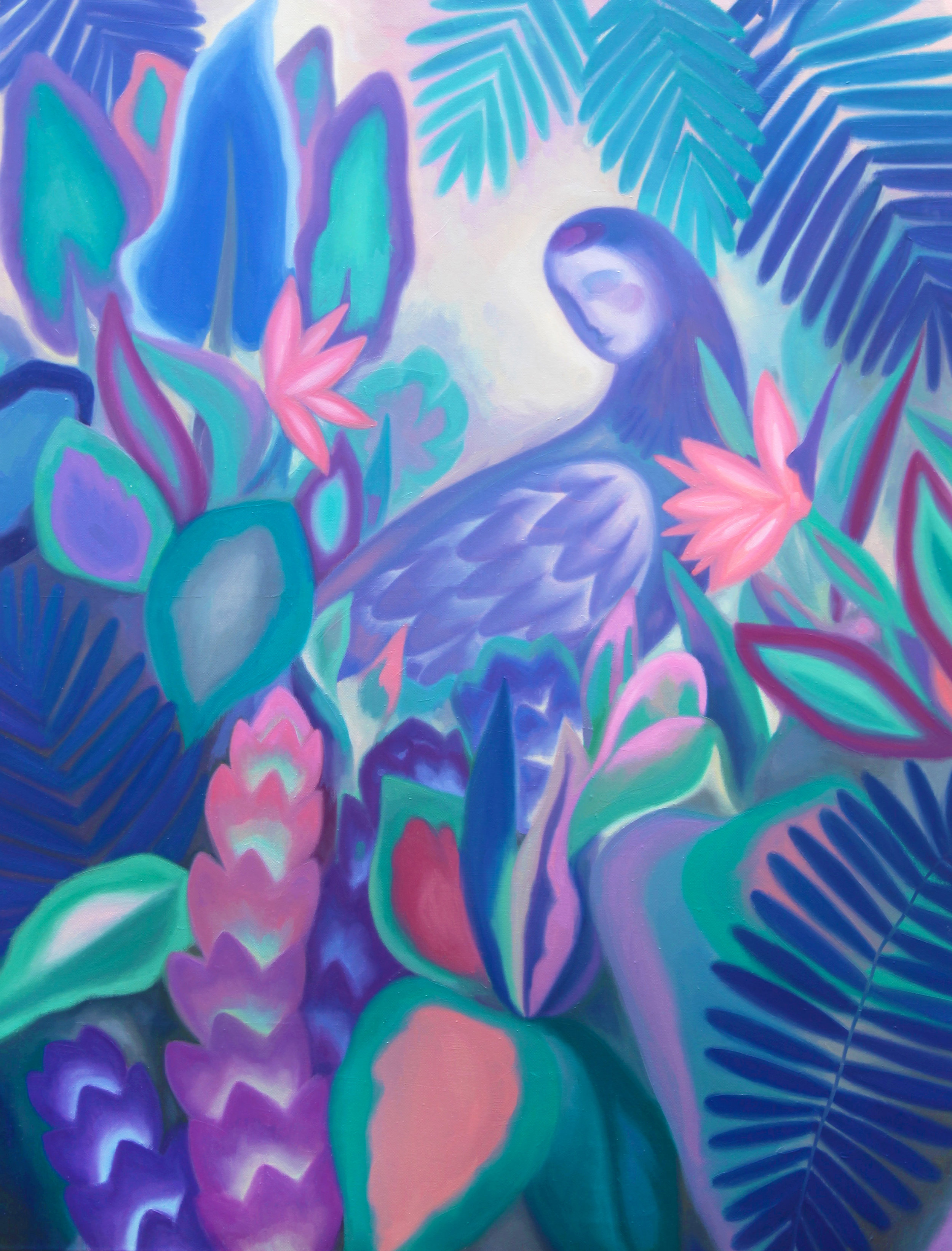 Natura natura  , 2018, oil on linen canvas, 116x89cm