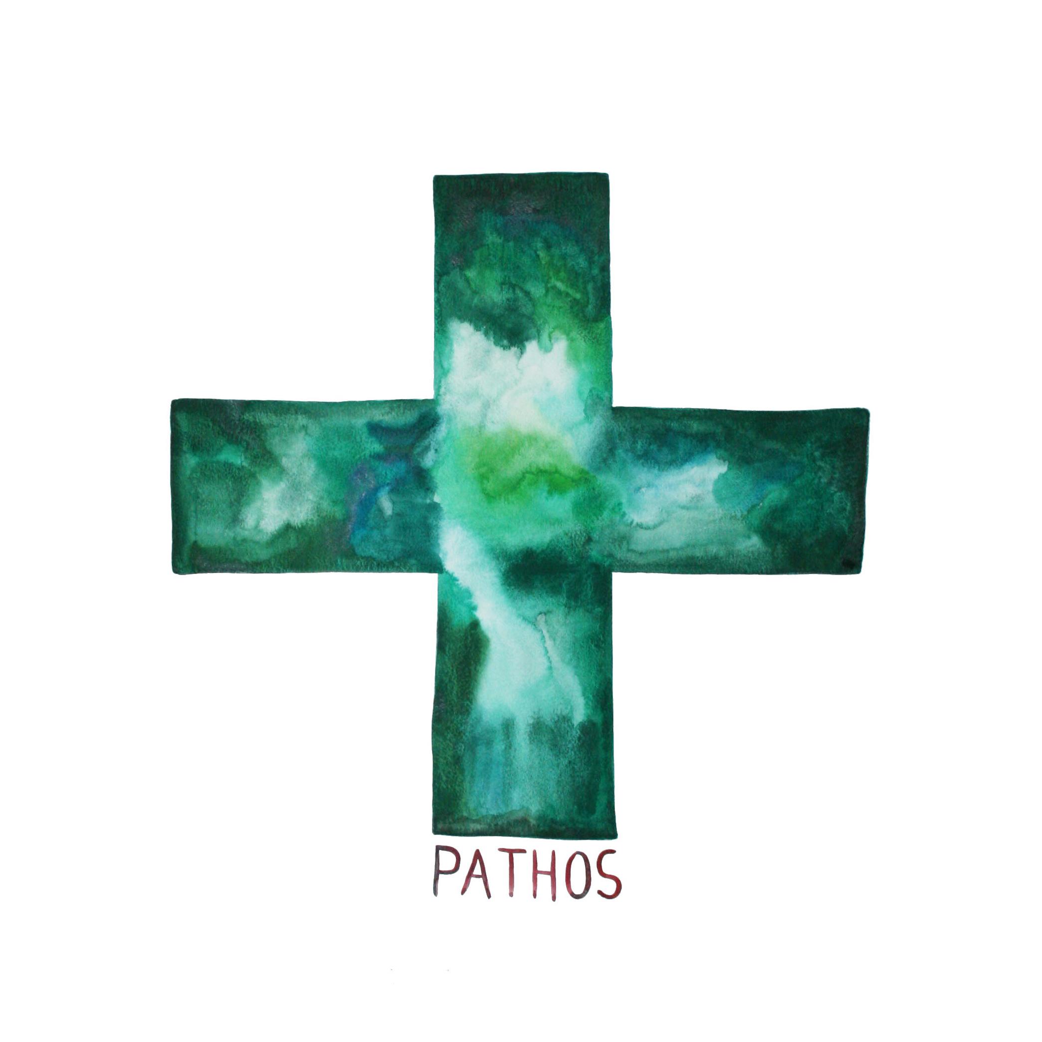Pathos  , 2014, watercolor on paper, 50x50cm