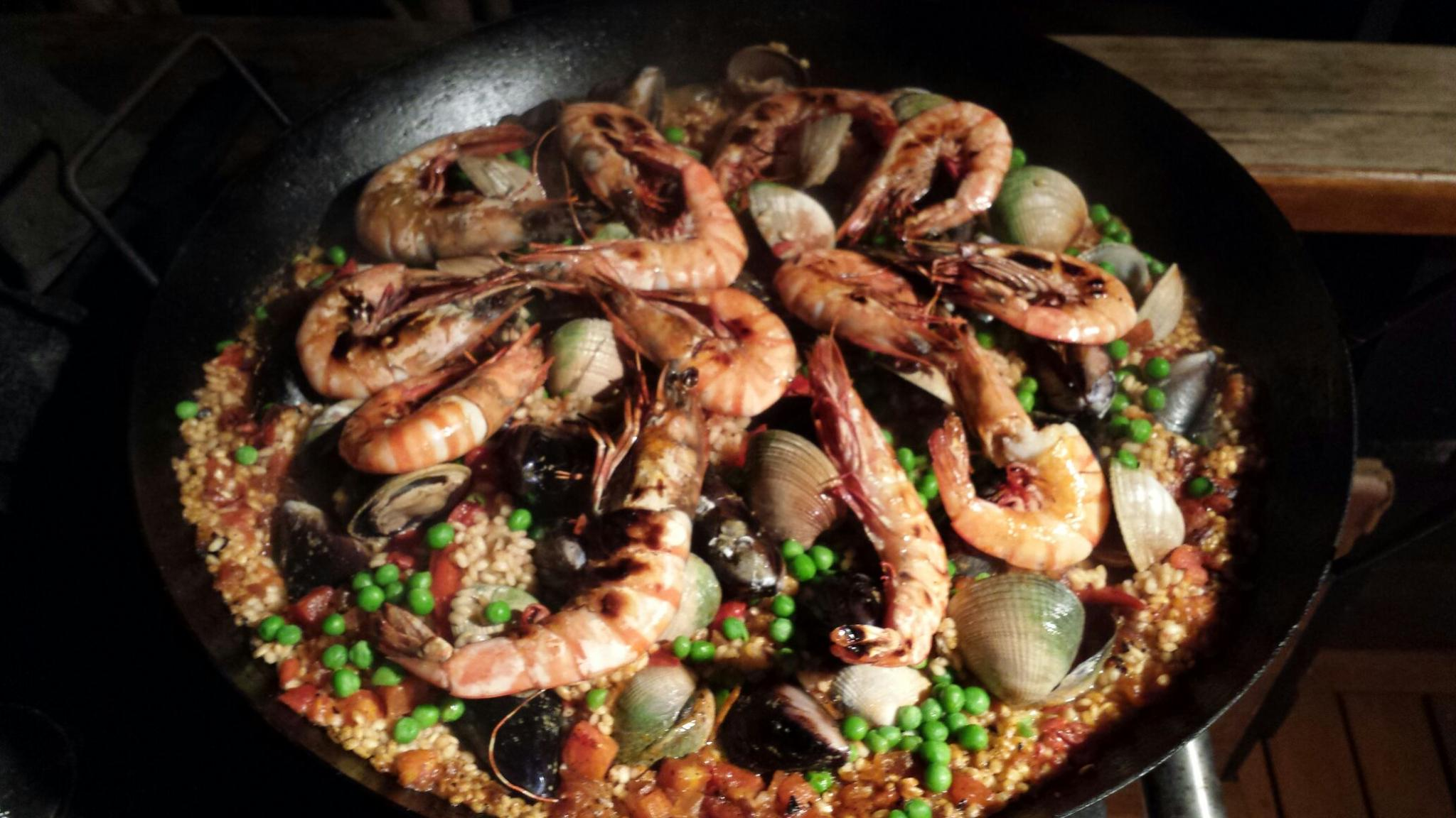 Mary's AMAZING seafood paella