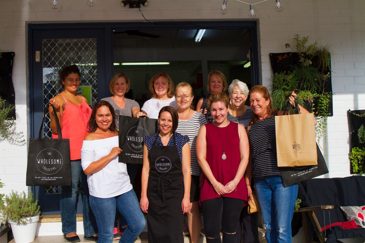A wonderful group of ladies from the 'Everything but the Kitchen Sink' following a presentation on ancient grains!