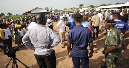 22,000 Sudanese Refugees flooded into Aba, Congo DRC
