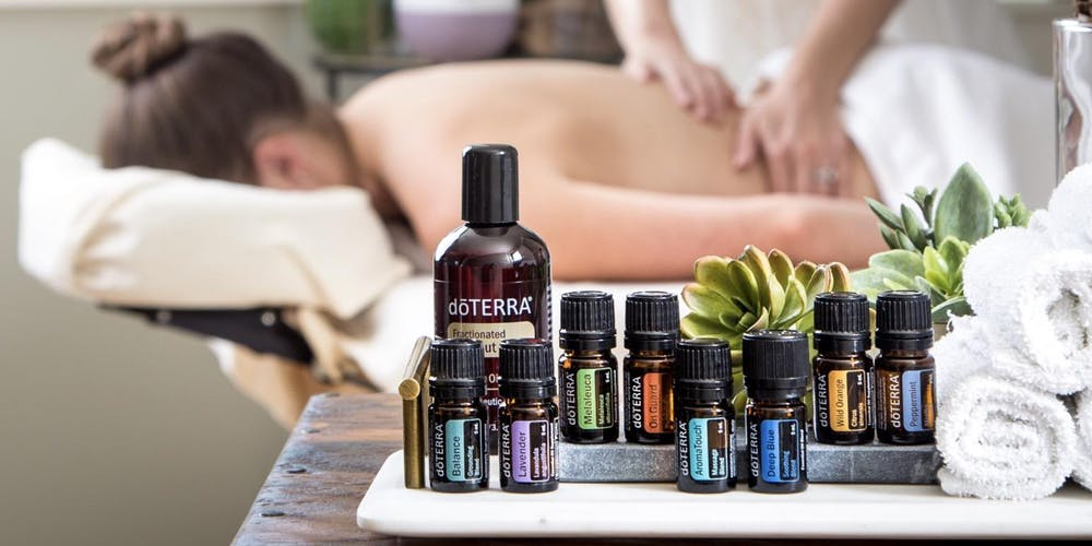 Doterra Aroma Touch Sessions is an application of 8 therapeutic grade oils.