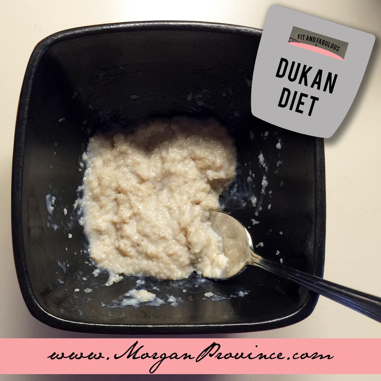 Dukan Diet Oatmeal   Morgan Province