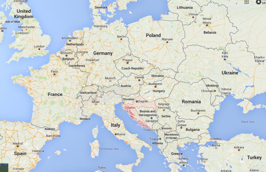 Where Is Croatia on the Map?