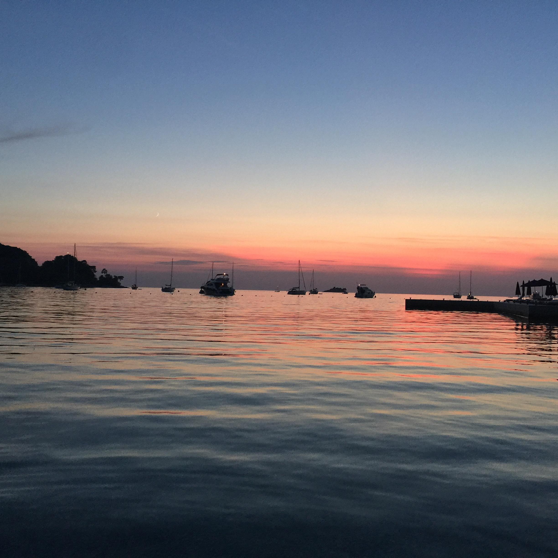 Sunset in Rovinj, Croatia | Traveling Newbies