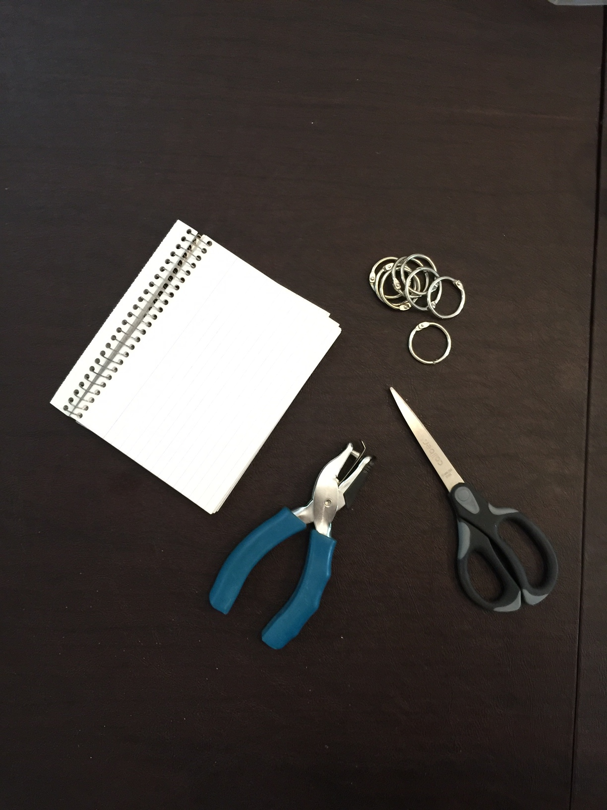 Supplies to make your own mix and match cards when teaching english to kids.