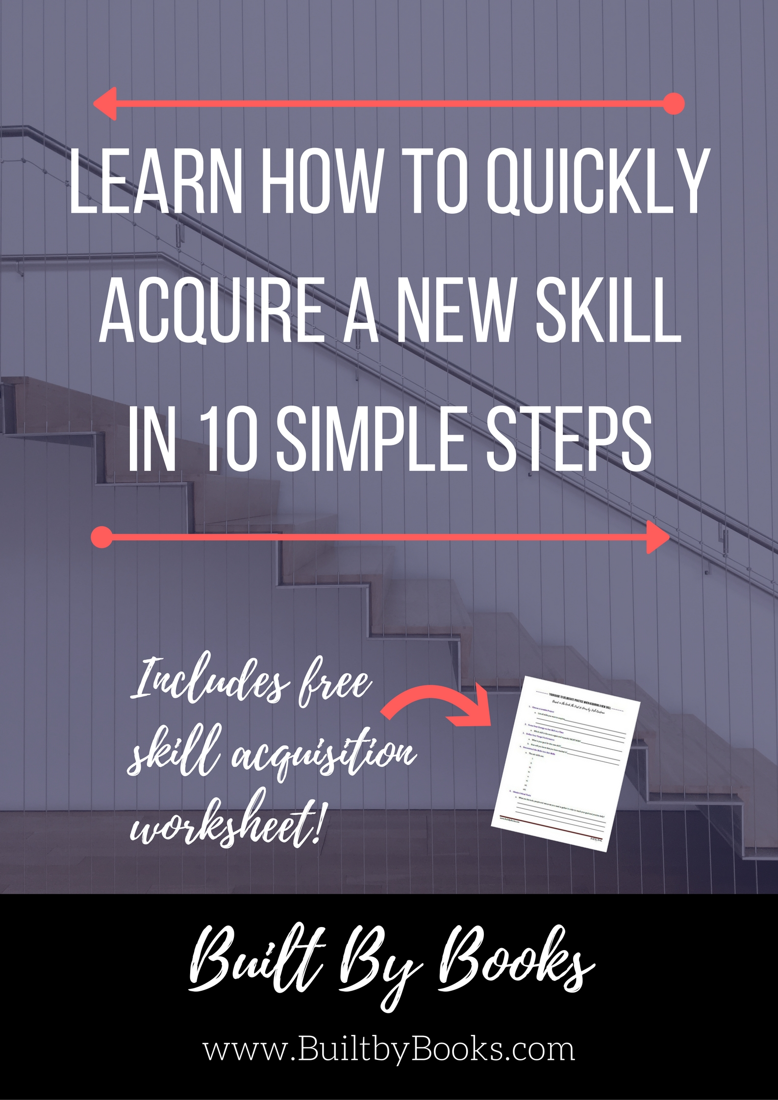 Built by Books - Learn New Skills Quickly!
