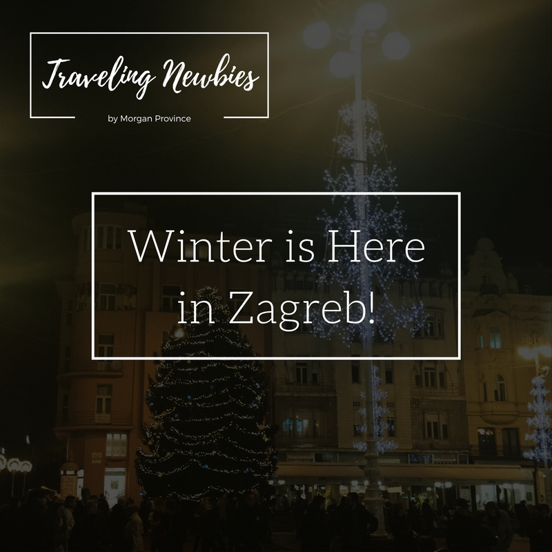 Winter Has Arrived in Zagreb!