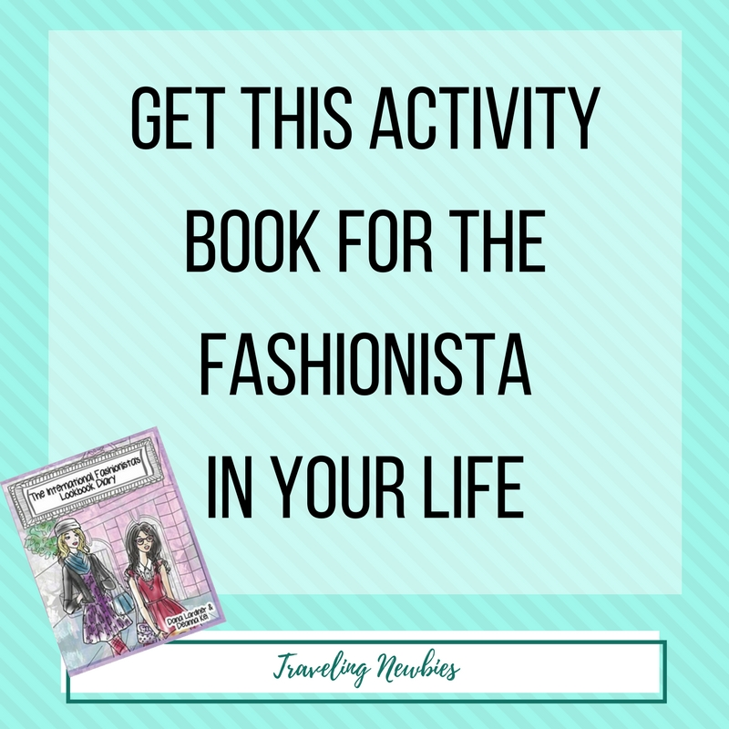 Do you have a fashionista in your life? She will love this lookbook diary!