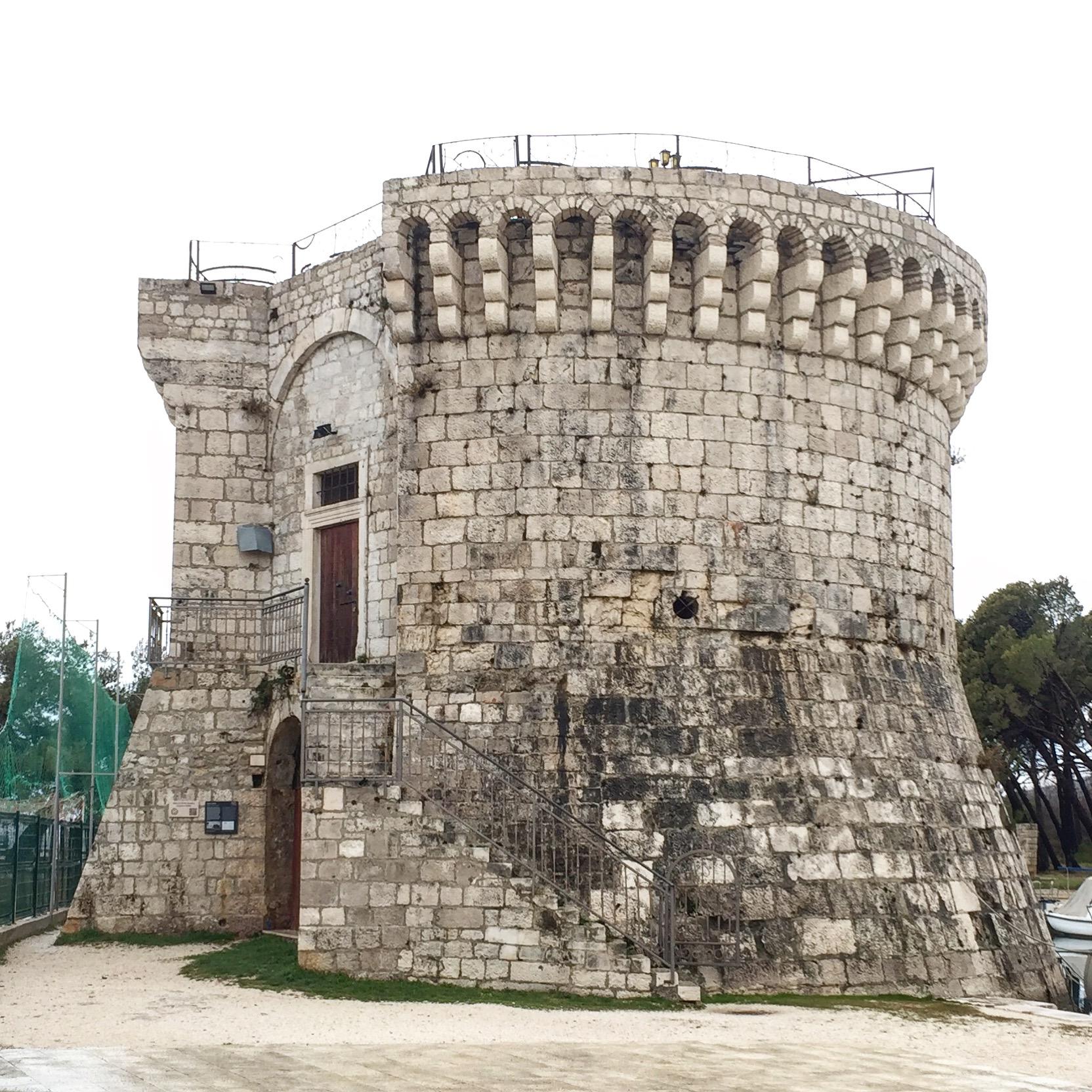 Split Trogir St Mark Tower.JPG