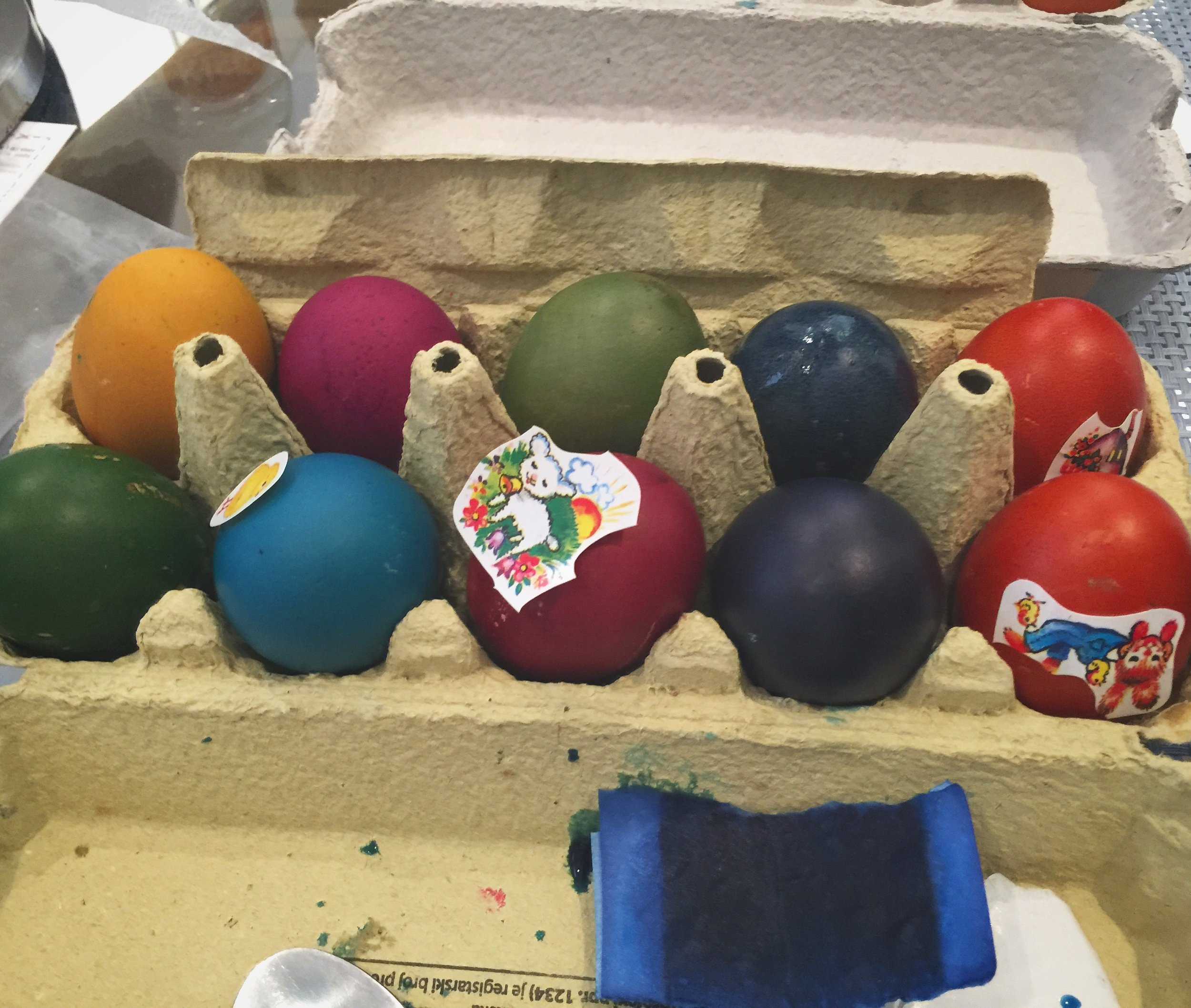 Dying Easter Eggs is Fun for Adults, Too!