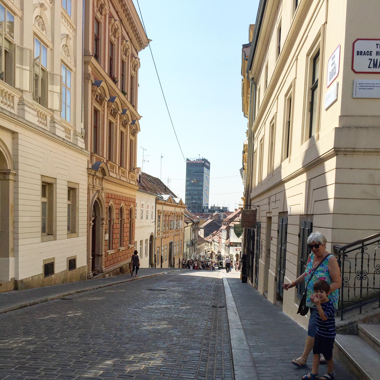 Radiceva ulica in Zagreb - Traveling Newbies