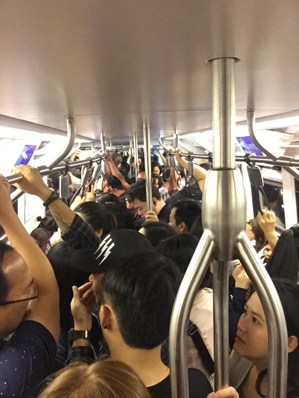 Bangkok BTS Train