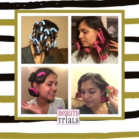 Do no-heat hair curlers really work? Check out my latest blog post on The Beauty Trials to find out!  Click the photo or this link  to read.
