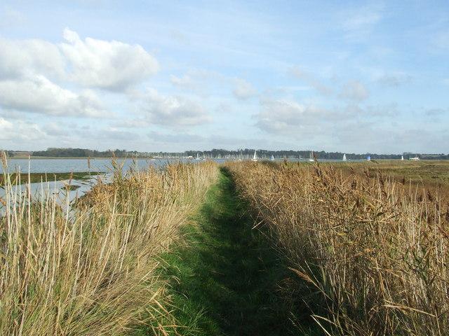 Suffolk Coast and Heaths footpath