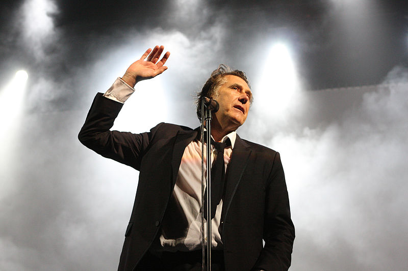 Bryan Ferry, who will be coming to Lincolnshire for a summer concert