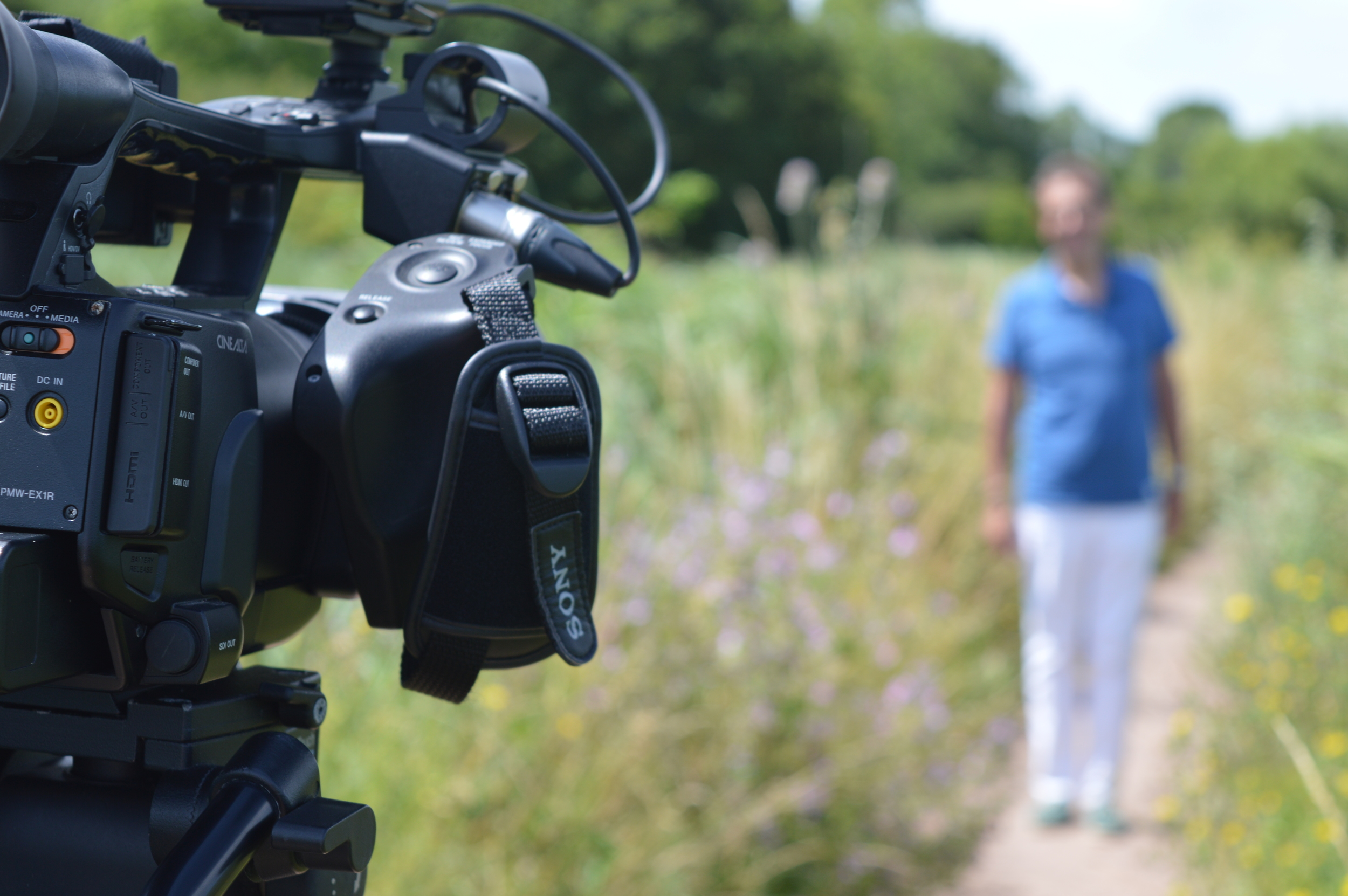 Lights, camera, action! Filming at The Broads National Park in Oulton Broad