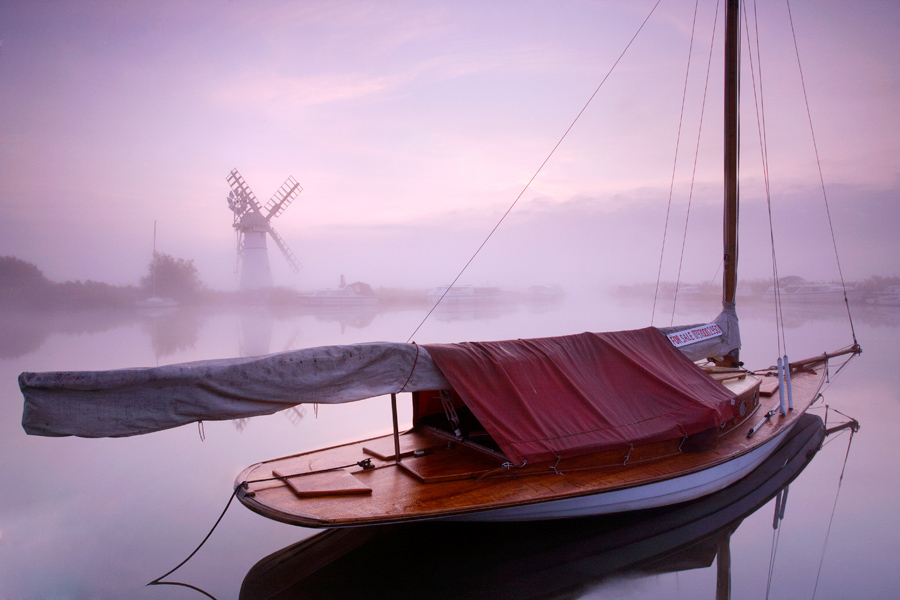The Norfolk Broads - explore whatever the weather or season.