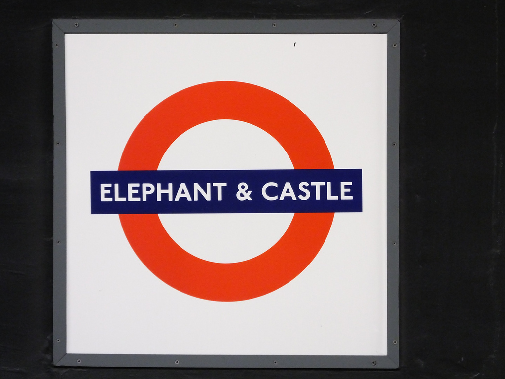 Above: The famous Elephant & Castle - but where does the origins of its name lie?
