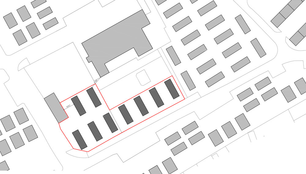 Above: Further investment! Architects plan of new pitches currently being built at the park.