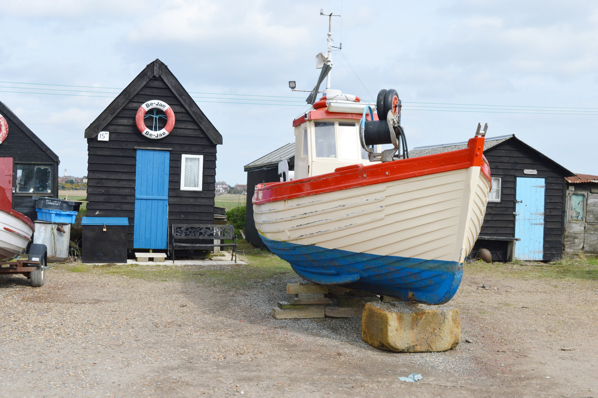 Above and below: Visit nearby Southwold without paying Southwold property prices!