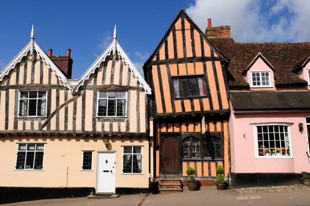 Above: Lavenham, Suffolk