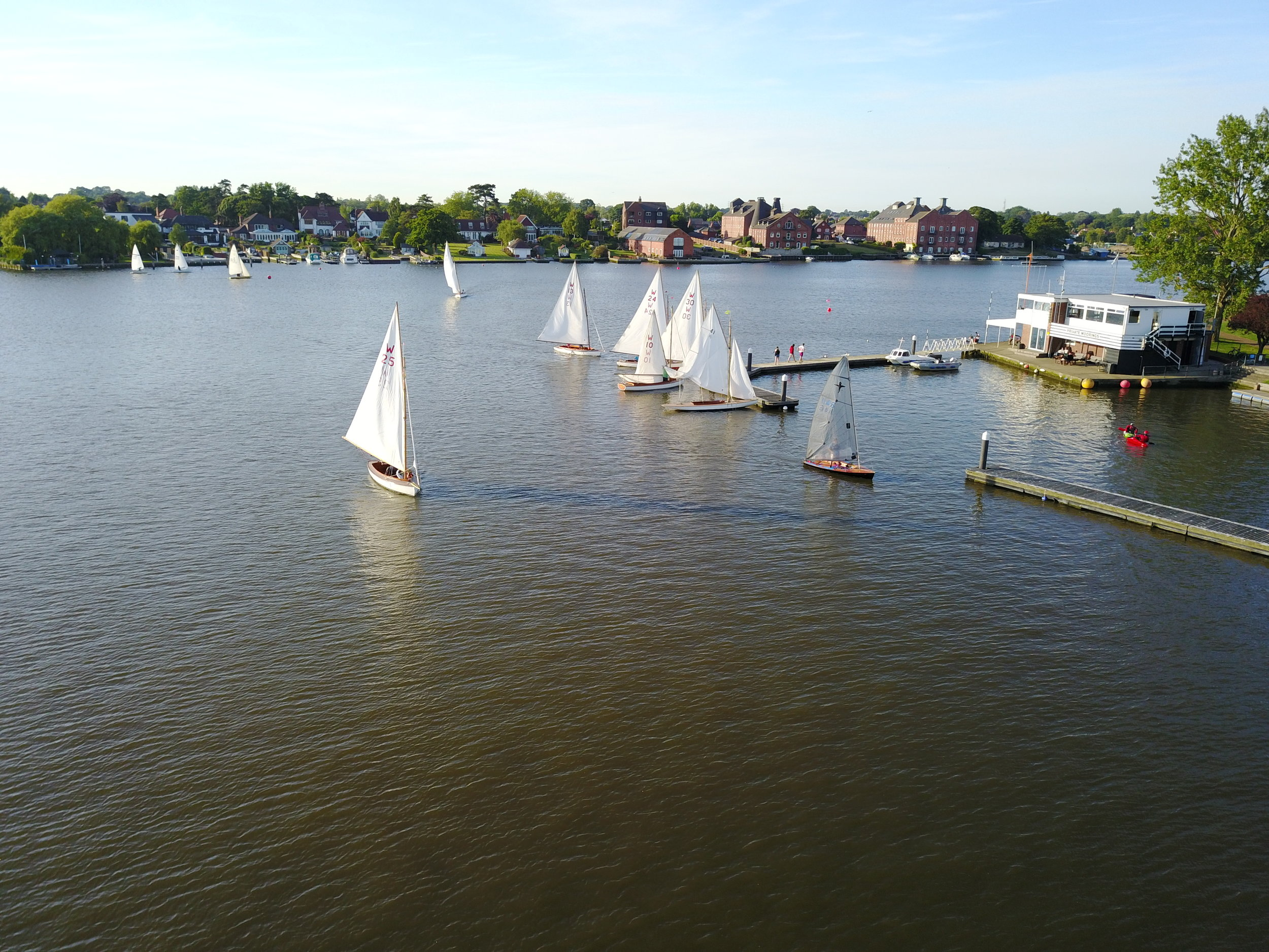 Above: Picturesque Oulton Broad, Suffolk.