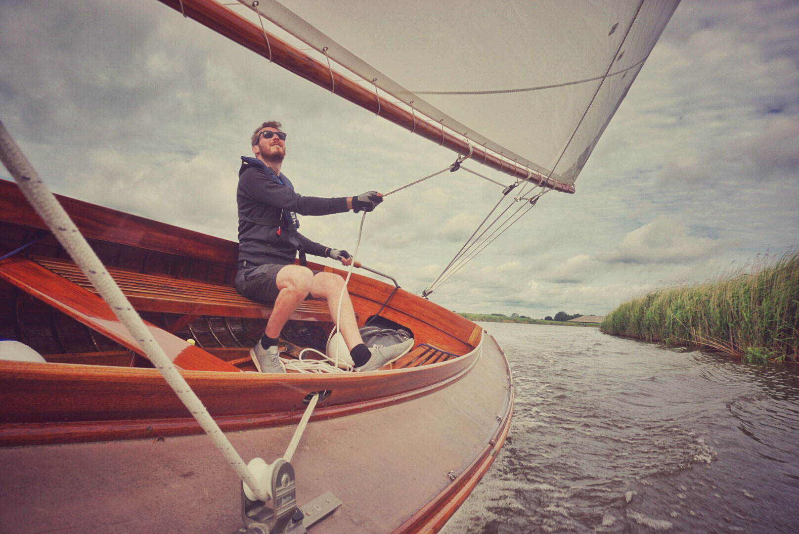 Above: Discover the Broads by boat from our onsite marina and launch from Oulton Broad and end up wherever the water takes you.