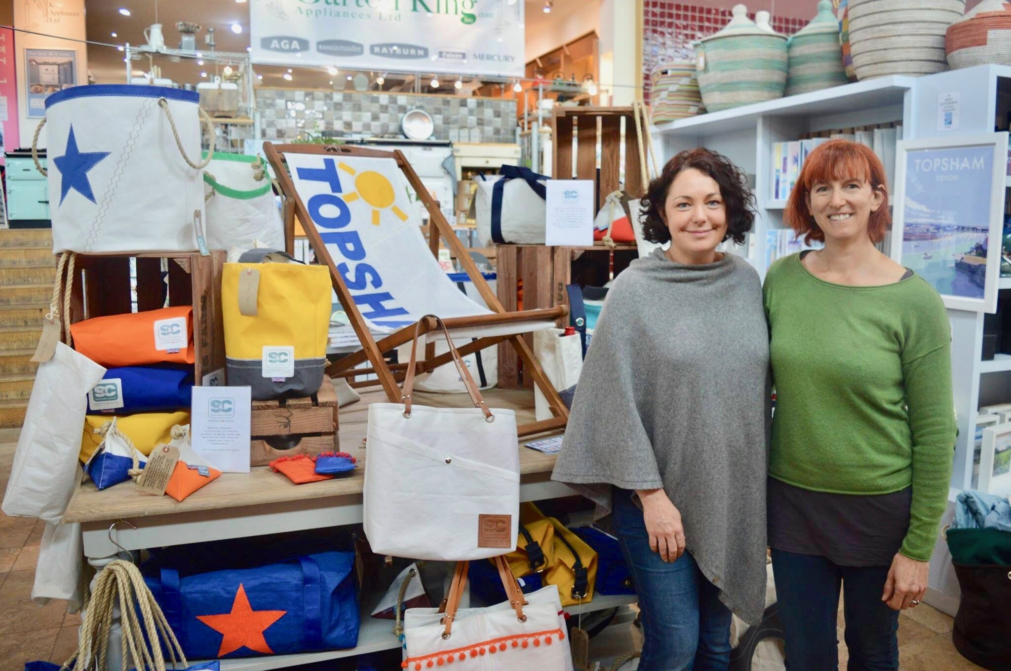 Image: Juliette and Mandi from Sails and Canvas   (courtesy of Sails and Canvas)