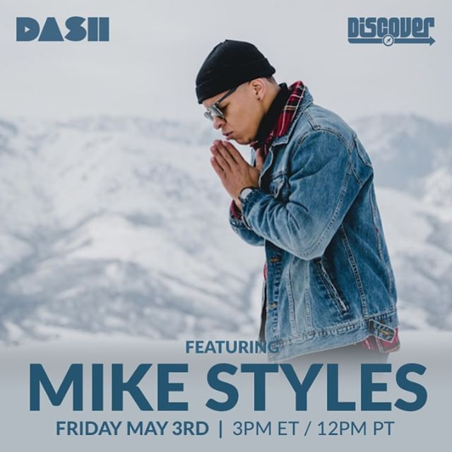 Mic slayer, Mike Styles catches up with Dylan Berry on @bompoptv, (@StyleLikeMike) 🌹  Tomorrow at 12PM PST only on @dashradio's Discover channel.  #radio #bompoptv #emergingartist #music #interview #listentothis
