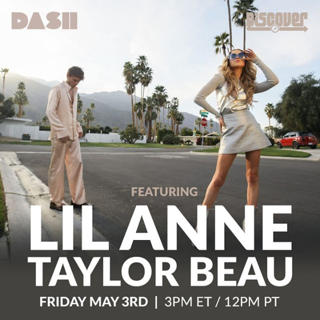 """Tune in today to Dash-Radio for an interview with actress and artist Lil Annie (@annewinters) and Taylor(@taylorbeau_the_legend) about their new single """"Faded"""" 🌹🏆💋 Today at 12PM PST on @dashradio's Discover. 💥  #faded #actress #single #radio #bompoptv #music #interview"""