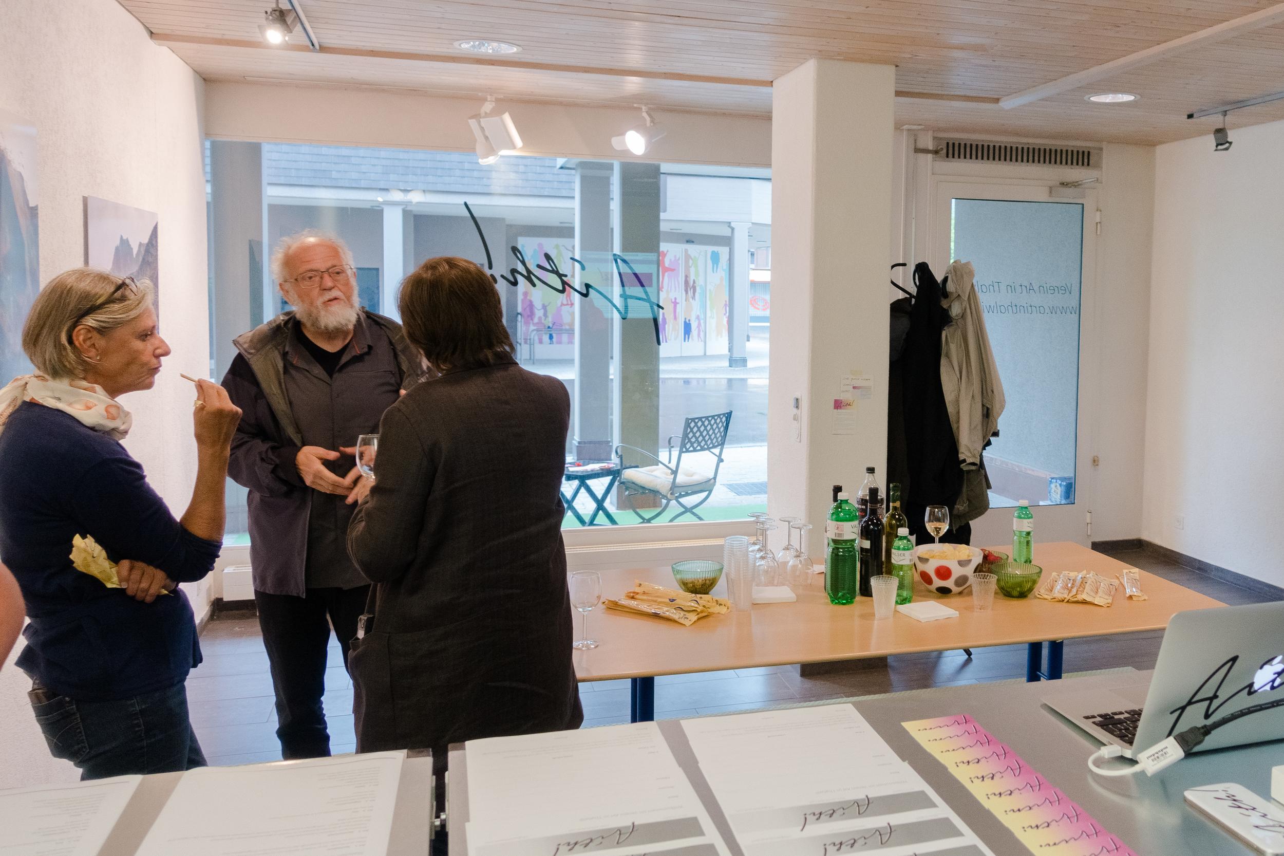 Verein Art in Thalwil Gattikon Eröffnung
