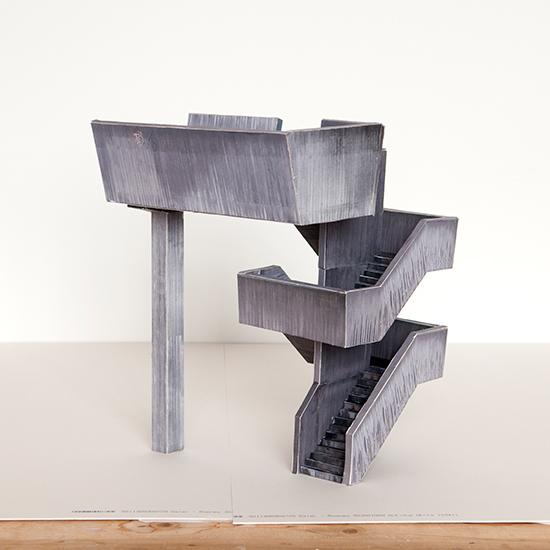 """Contrived Structure No. 08"", Digital C-Print, 2012"