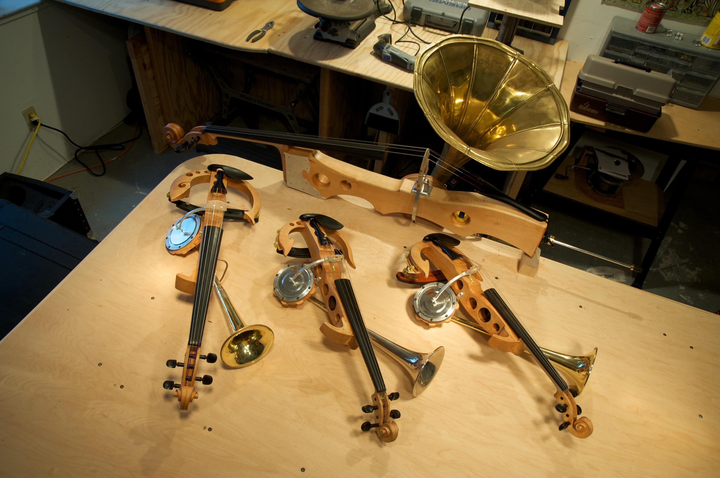 Stroh Instruments (for Kronos Quartet)