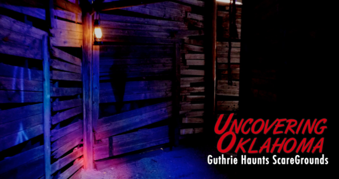 Guthrie Haunts   voted the best haunted house in OK 2016. Lionsgate filmed a Blair Witch movie promo here. Very Scary!