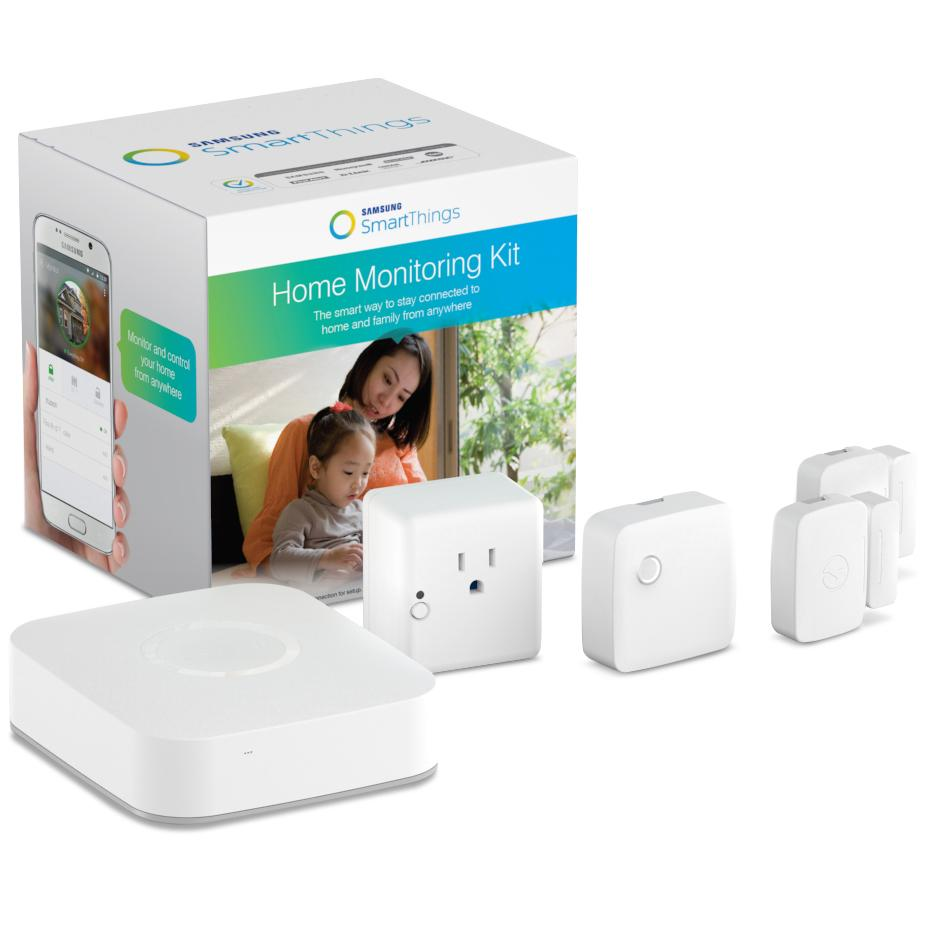 "Samsung ""Smart Things"" Home Monitoring Kit  - $ 249.00 www.smartthings.com"