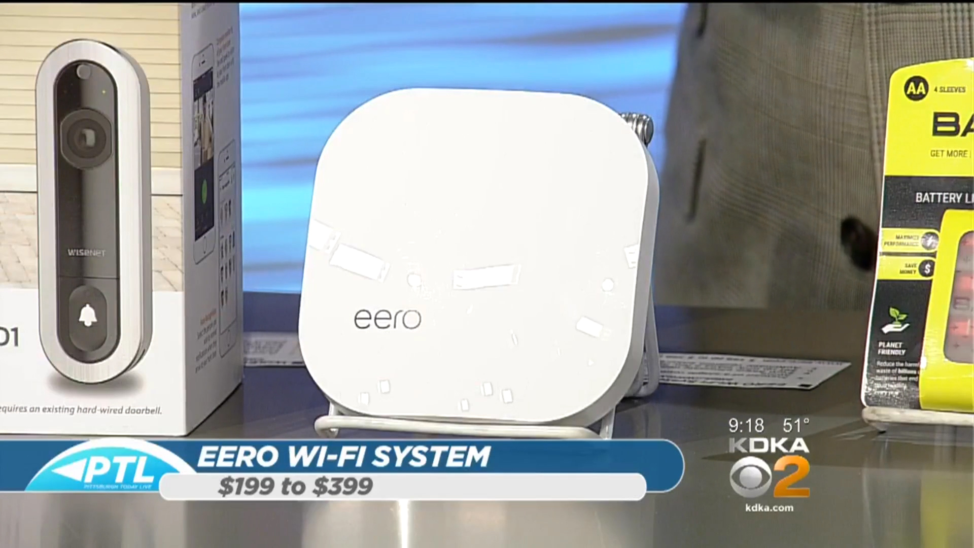 Eero Wifi System - $199.00 to $399.00 (877)-659-2347www.eero.com