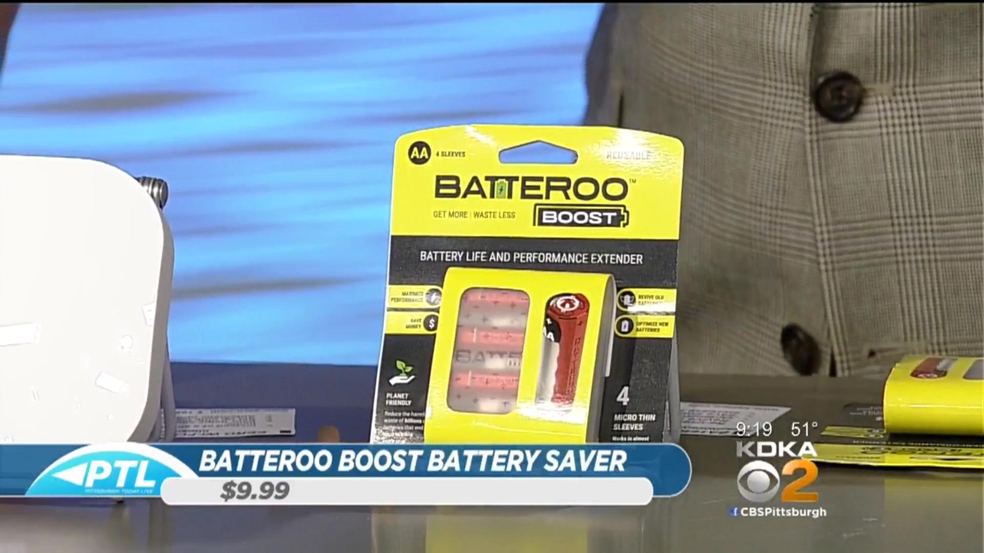 Batteroo Boost Battery Saver - $9.99(844) 827-6673www.batteroo.com