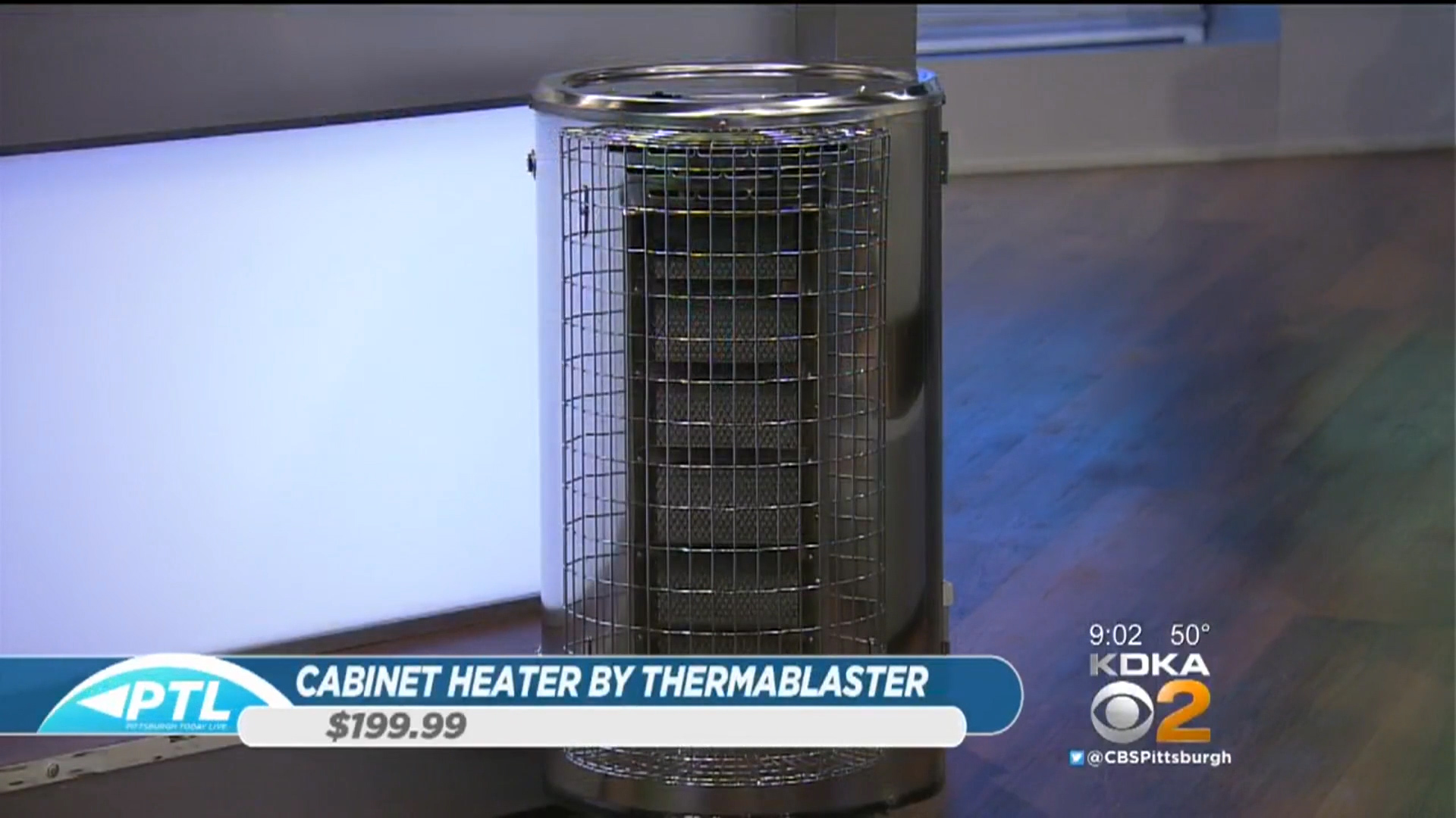 CABINET HEATER BY THERMABLASTER  - $199Shop Now