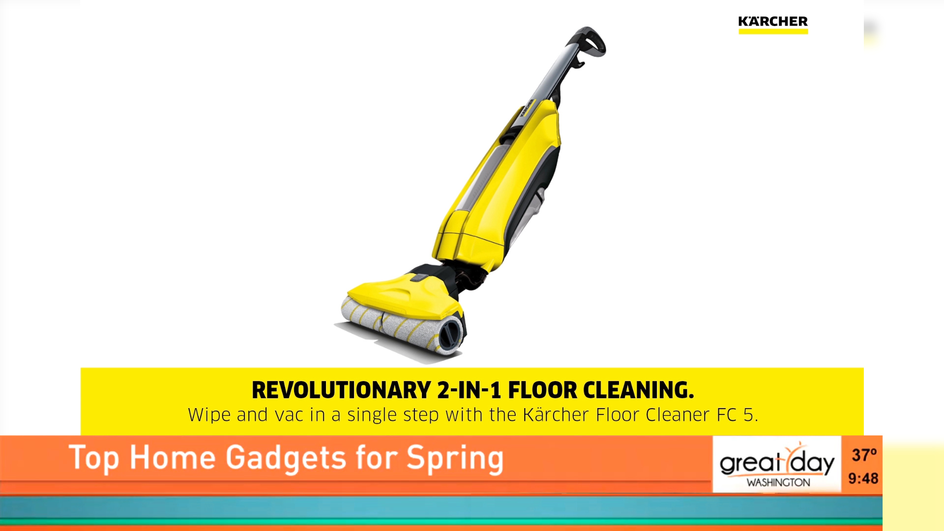 KARCHER FC5 FLOOR CLEANER - $299Shop Now