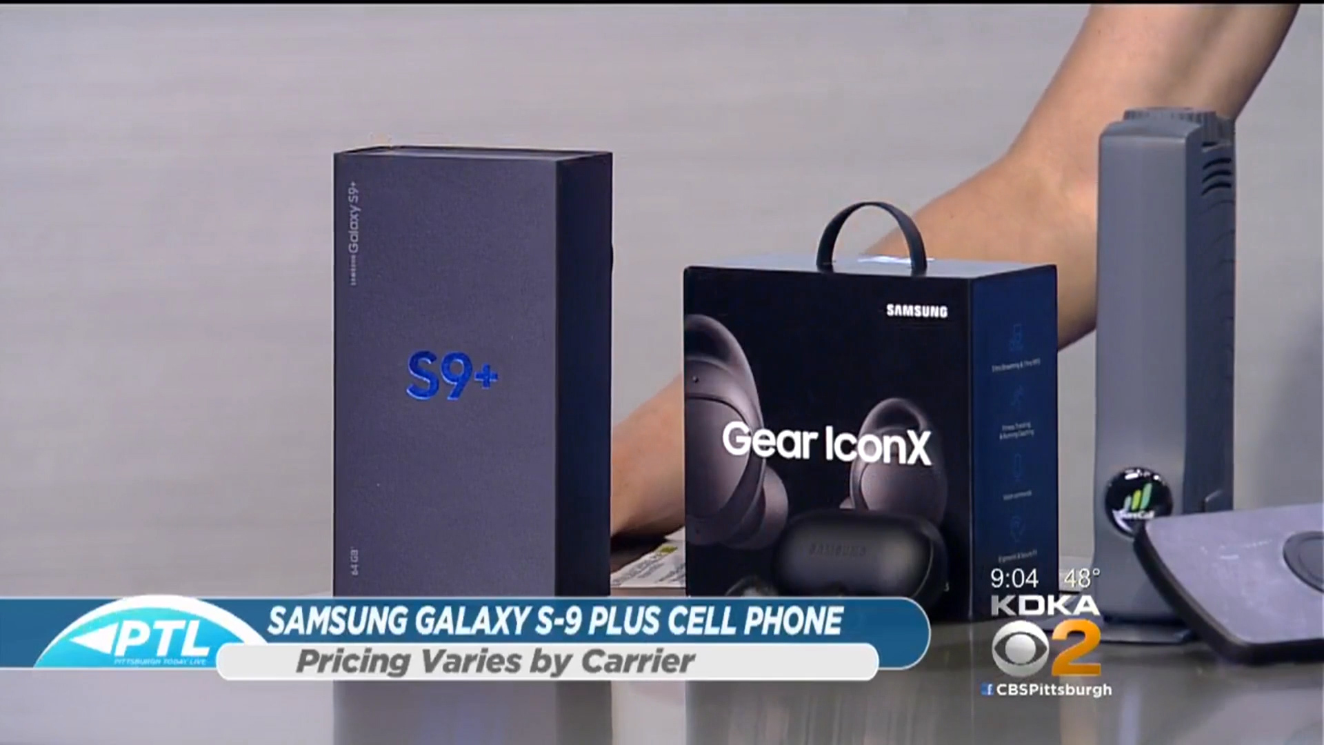 SAMSUNG GALAXY S-9 PLUS CELL PHONE - Pricing varies by carrierShop Now