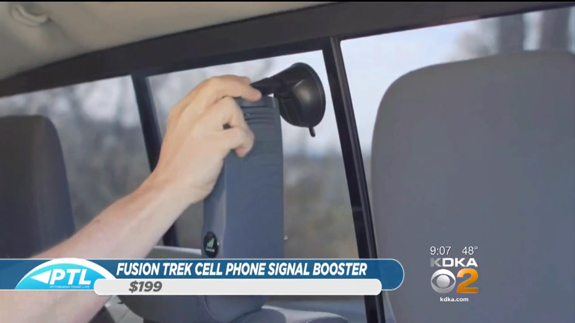 """""""FUSION TREK""""CELL PHONE SIGNAL BOOSTER BY SURECALL - Suggested retail: $199Shop Now"""