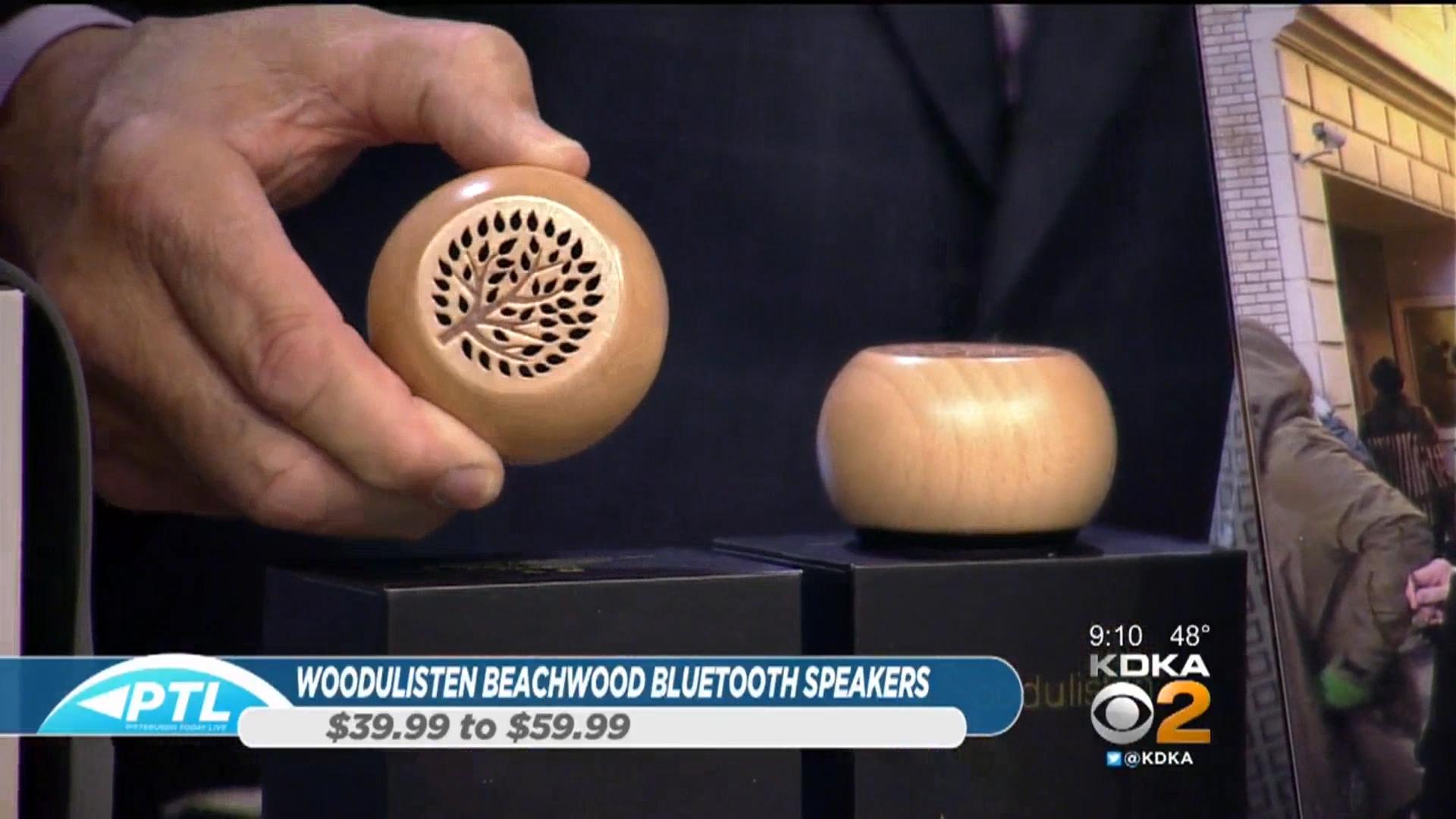 WOODULISTEN BEACHWOOD BLUETOOTH SPEAKERS - $39.99-$59.99Shop Now