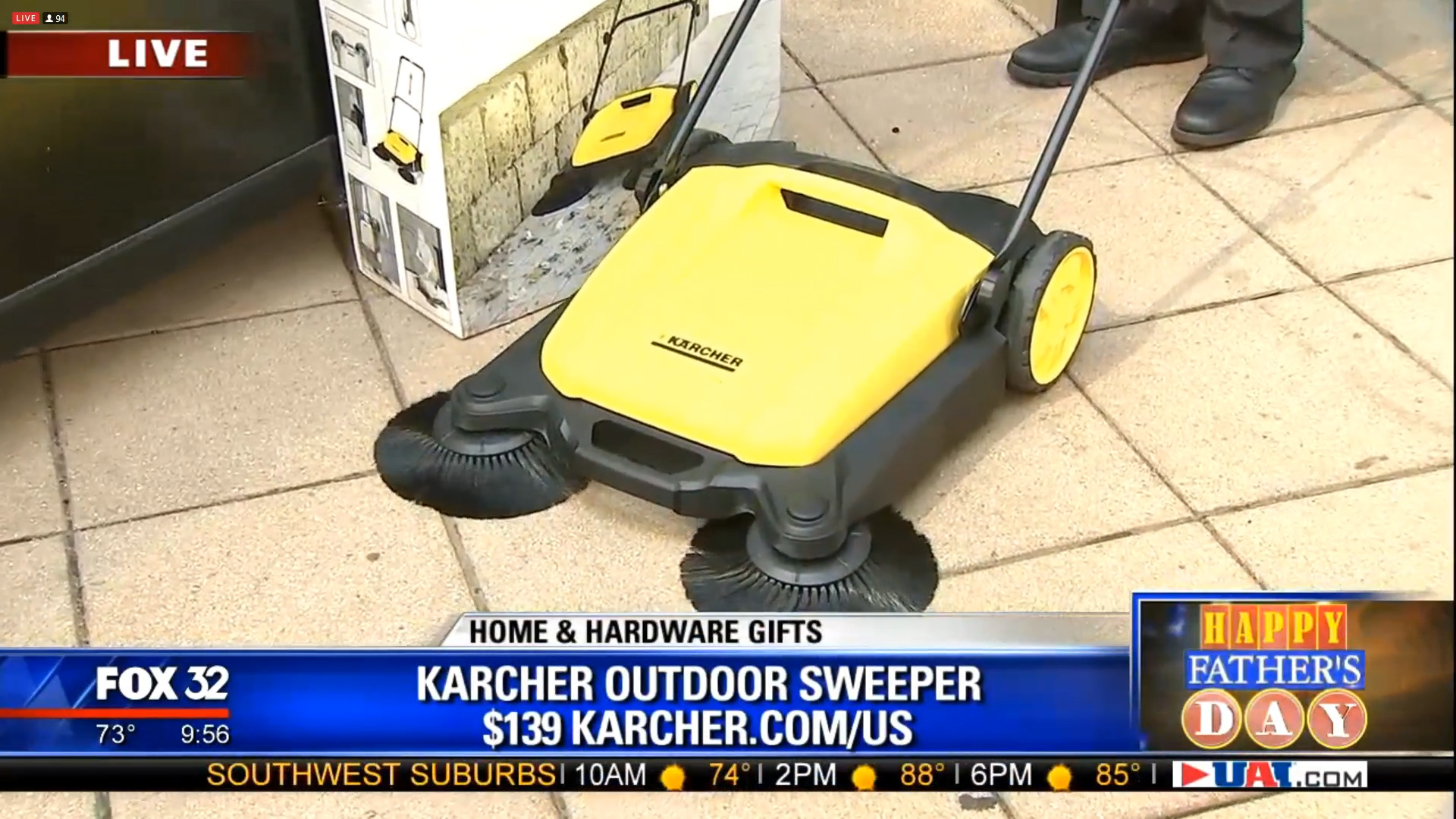 KARCHER S-650 OUTDOOR SWEEPER - $139.00Shop Now