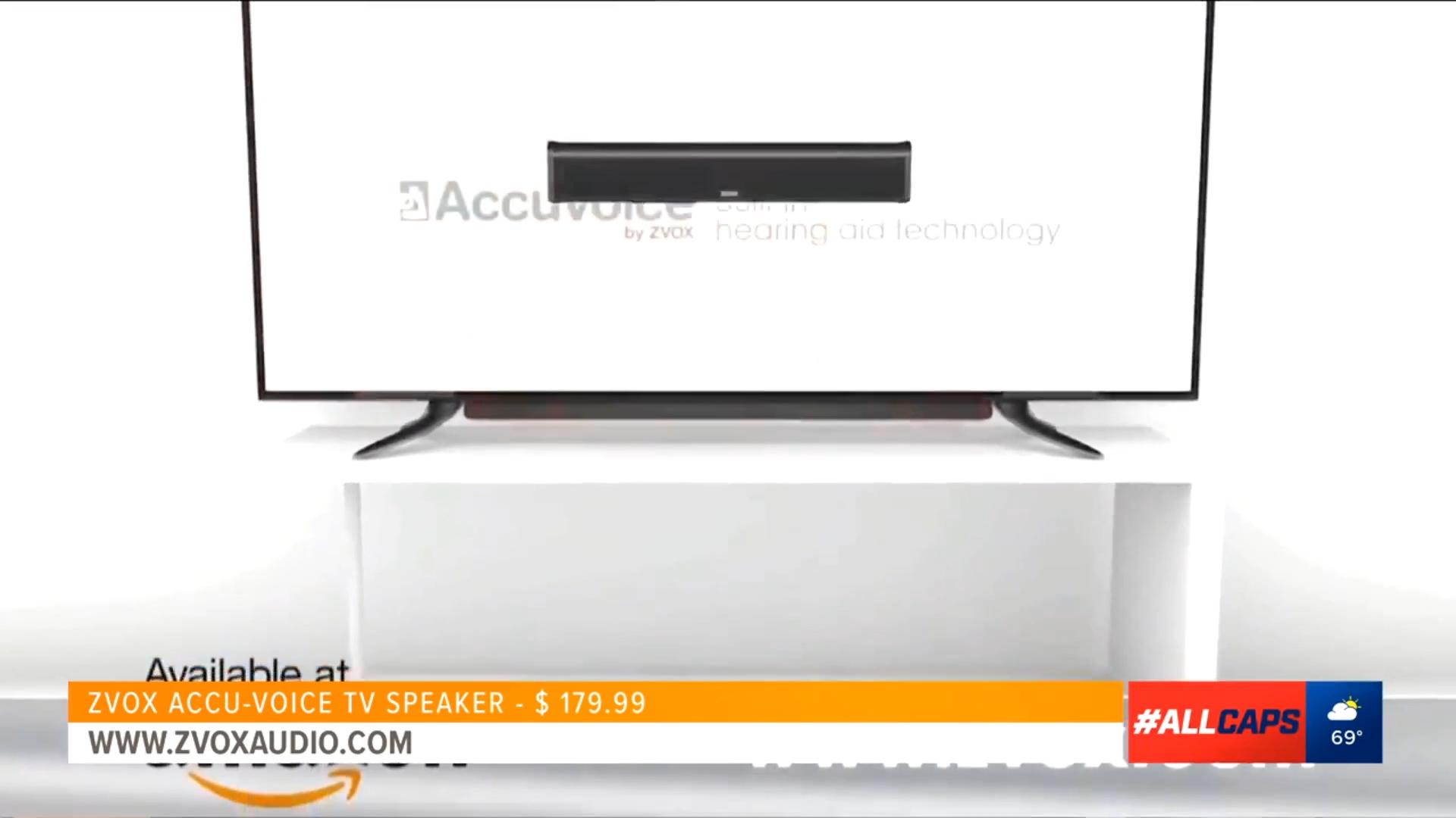 ZVOX Accu-Voice (AV-200) TV SPEAKER w/Hearing Aid Tech - $179.99 saleShop Now