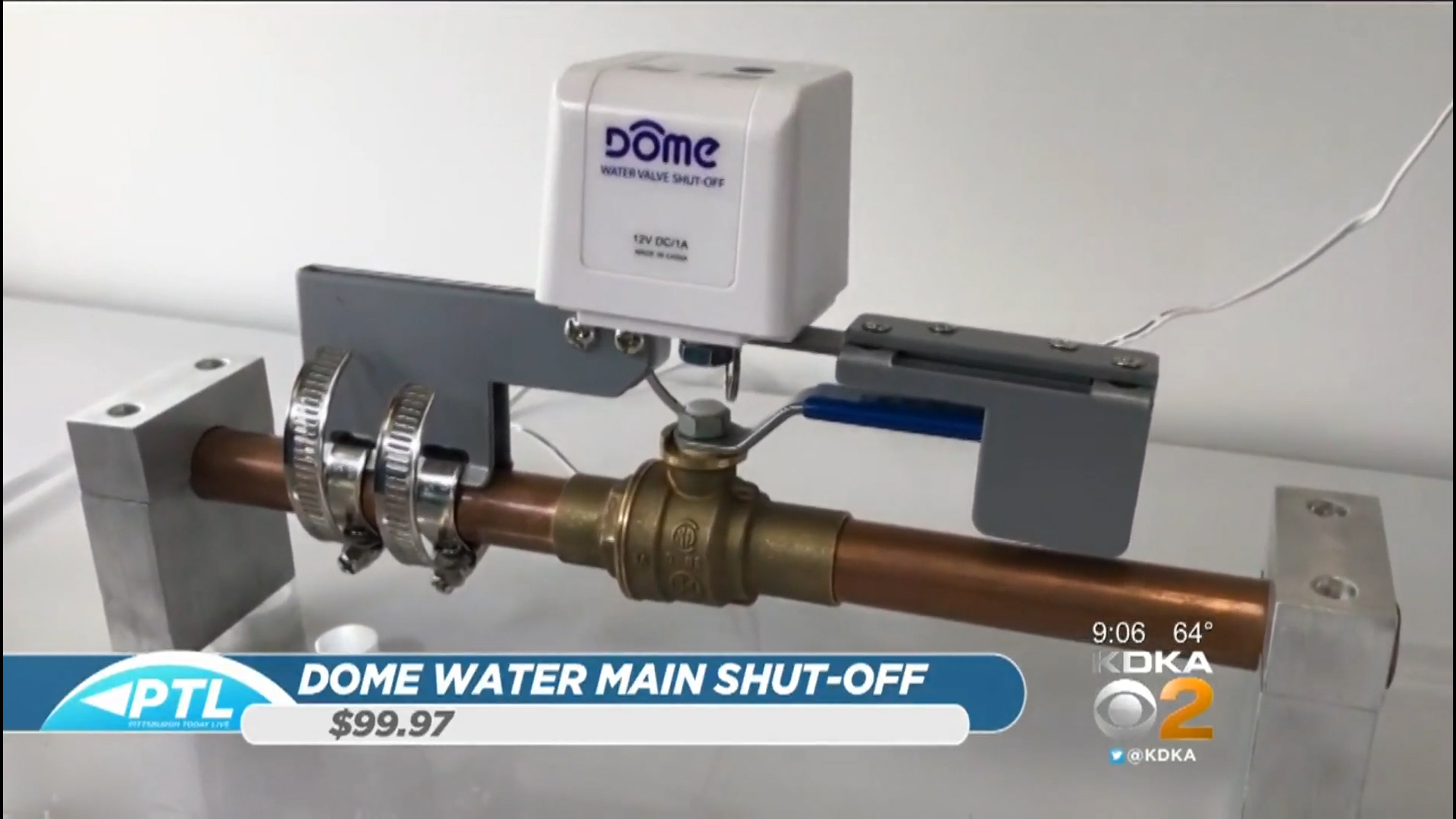 DOME WATER MAIN SHUT-OFF - $99.97Shop Now